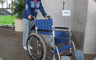 車椅子無料貸出